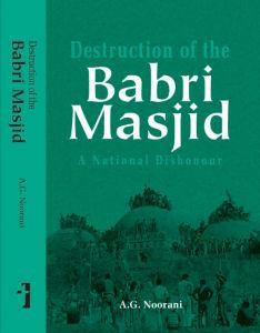 Destruction of the Babri Masjid
