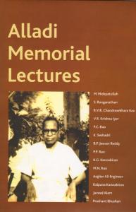 Alladi Memorial Lectures, Vol. I