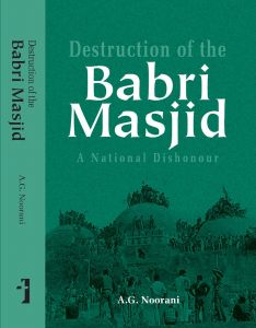 Destruction of the Babri Masjid