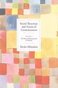 Social Structures and Forms of Consciousness, Volume I