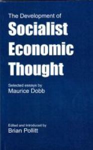 The Development of Socialist Economic Thought