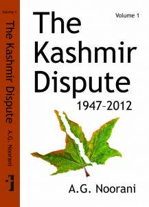 The Kashmir Dispute, Volume 1