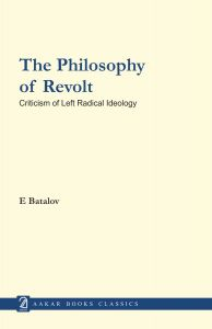 The Philosophy of Revolt