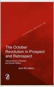 The October Revolution in Prospect and Retrospect