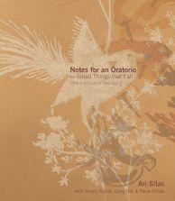 Notes for an Oratorio