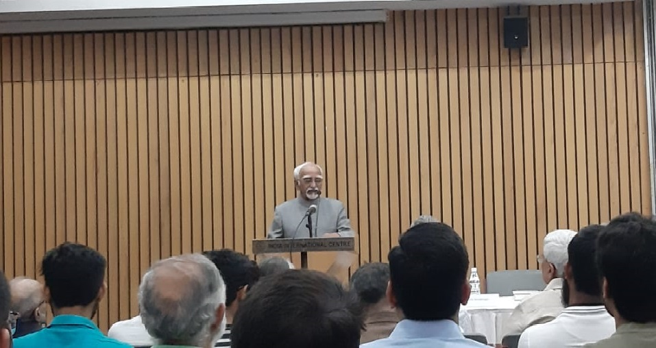 'The RSS - A Menace to India': Hamid Ansari's speech at the book launch