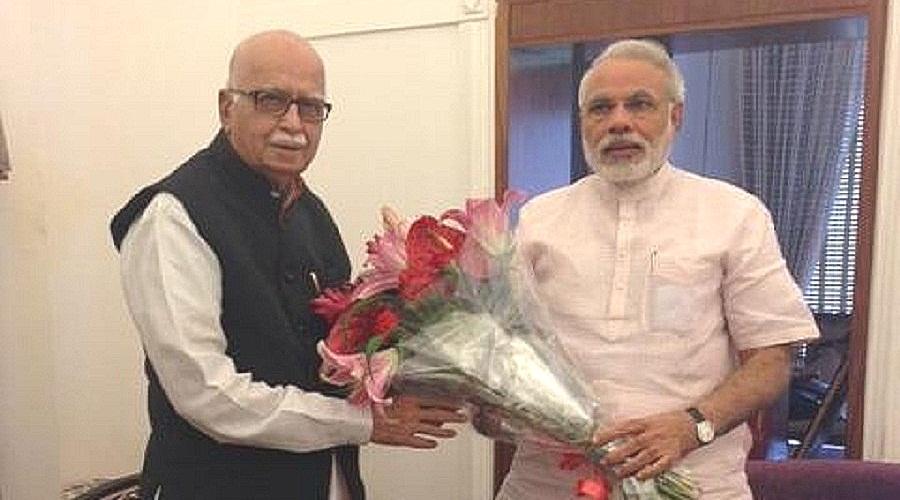 How Modi pipped Advani for the 'Pradhan Sevak' prize