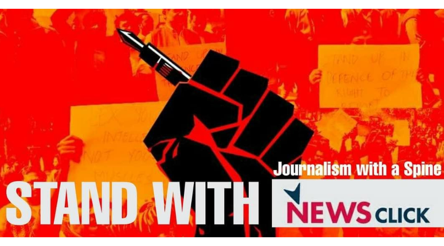 LeftWord Books Stands With NewsClick