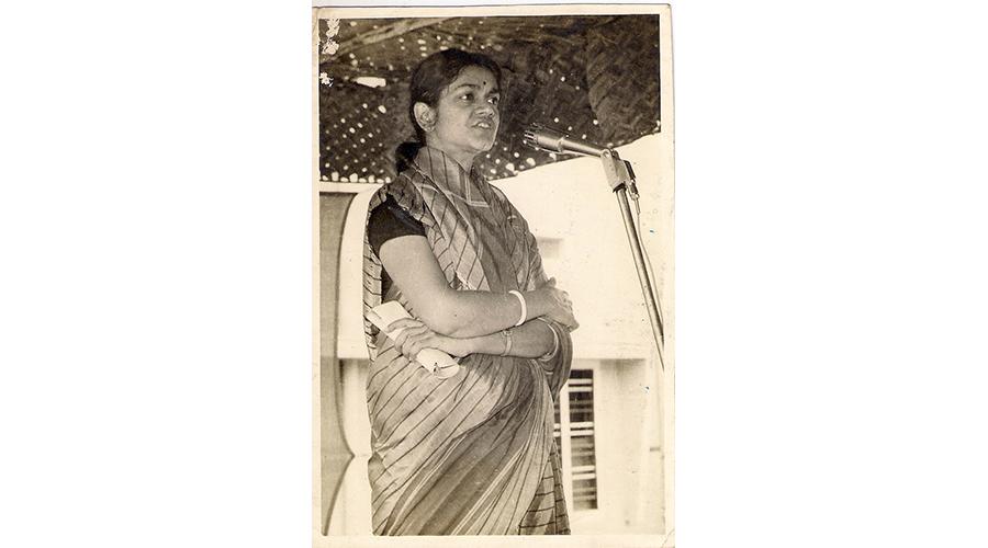 Mythily Sivaraman (1939-2021).
