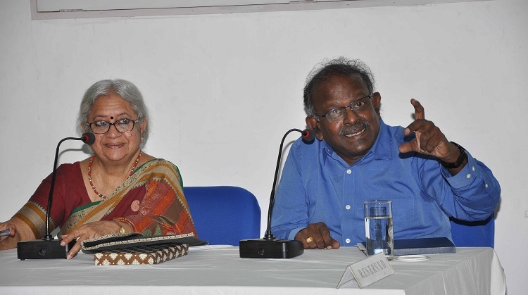 Vasanthi Devi and KA Manikumar