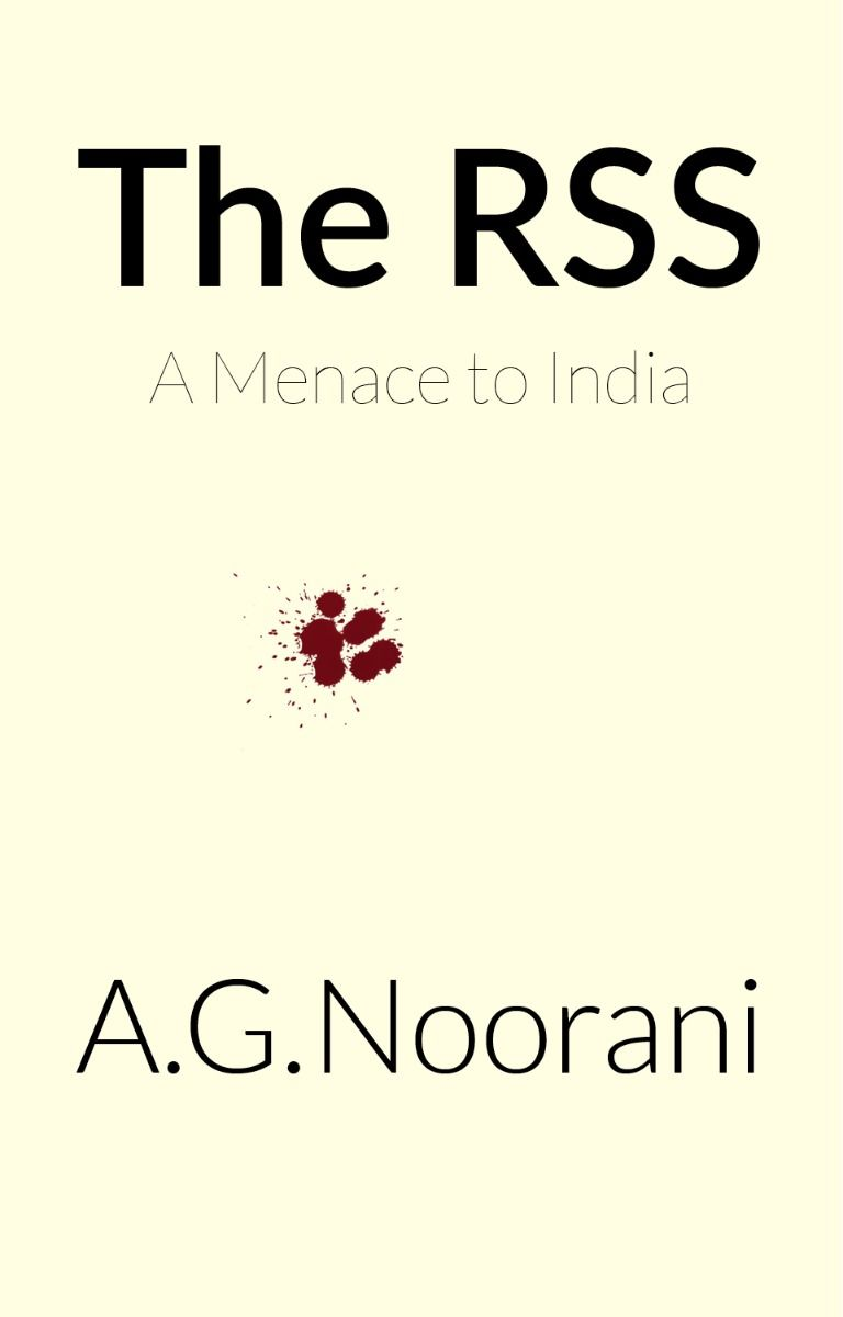 AG Noorani The RSS book cover